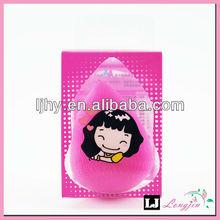 OEM Custom PVC Packing Latex Free Makeup Sponge