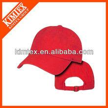 blank red plain cotton polo style baseball cap hat hats