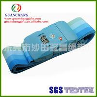 New hot products on the market custom combination lock luggage belt