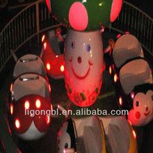 Popular for kids! Theme park little animal merry go round
