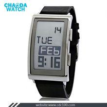 Newest fashin trendy genuine E-Ink Concept Watch