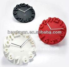home decoration 3D wall clock (HB-185C)