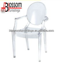 Left Transparent Clear Ghost Chair