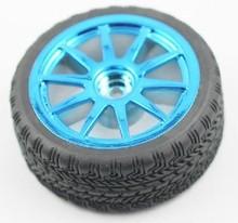 F05099 DIY intelligent Car Robot Accessories: high quality 65 mm Rubber Car Wheel Tire