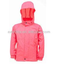 Girls Waterproof and Windproof Jacket AK037