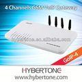 Gateway gsm 4 sim carte scatola, supporto cambioimei goip- 4