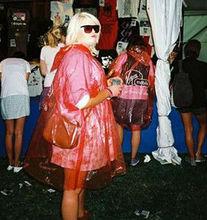 pe one time used poncho/raincoat/rain coat/rain ponocho