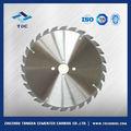 Carburo de tungsteno hoja de sierra circular para cortar madera, de papel, o de metal de aluminio