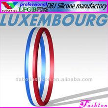 LUXEMBOURG Pernonal Alarm USB Silicone Bracelet/Wristband Ring Combination(FDA)