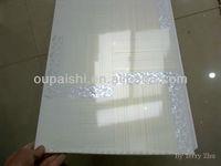 Waterproof Wall PVC Panels for Bathroom decoration