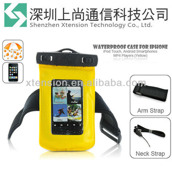 Waterproof Protective Pouch Bag Case Cover For iPhone iPod Touch MP4 Players
