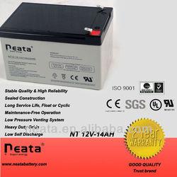 Storage Battery/rechargable battery 12v 14ah