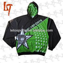 high performance custom sublimation pullover hoodies/sweatshirts