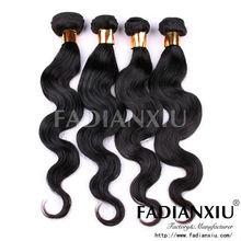 2013 New arrival grade AAAAA raw human hair Russian virign body hair,beautiful texture, extension de cheveux