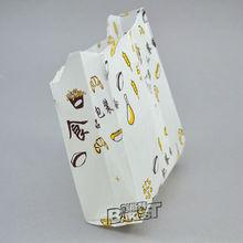 10*12cm--12.5*28cm Food Grade Greaseproof Kraft Paper Handbag for Food-BAKEST #PB001--PB004