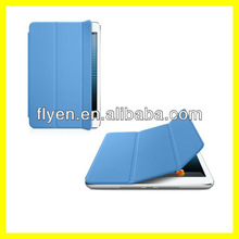 Smart Cover for iPad mini Ultra Slim Tri fold Magnetic Leather Case Wholesale Cheap Smart Cases Covers for iPad mini Smart Cover