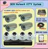 sony CCD IR waterproof dome camera H.264 8CH DVR standalone cctv camera dvr kit