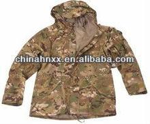 Custom military digital camouflage military winter parka