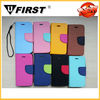 For iPhone 4 Flip Case/wallet case for iphone 4