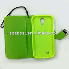 2014 new fashion mobile phone leather case for samsung galaxy s4 i9500