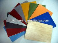 fiberglass backed vinyl flooring for gym and sports court