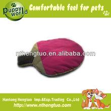 cute plush animal shaped pet bed
