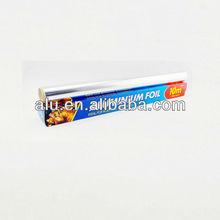 Dispenser color box packed household aluminium foil