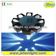 led projector light led Eight Head Sound Active/Auto-Play/Master-Slave/DMX512