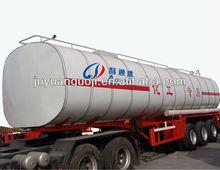 50 CBM liquid crude oil asphalt transport trailer with ABS breaking system for sale