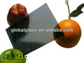 de alta calidad de 6mm la luz gris de vidrio reflexión al sol de la calefacción