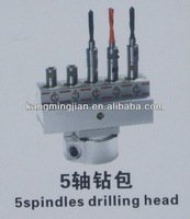 high quality 5spindles woodworking boring head/multiple spindle boring machine heads for drilling