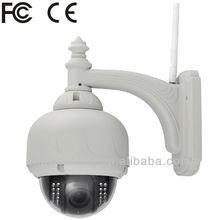 LED Waterproof Outdoor Mini High Speed Dome PTZ IR IP professional video camera