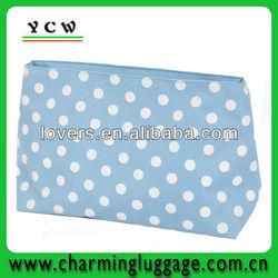 DOT Printing promotional makeup bag fashion cosmetic bag
