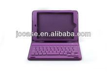 mini wireless Bluetooth Keyboard with leather case for iPad mini