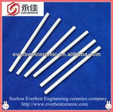 Aluminiumoxid-keramik stangen/aluminiumoxid 95 stangen/99 aluminiumoxid-keramik stab