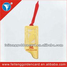Hot Sale 12 Chinese Zodiac Bookmark Elegant Dragon Bookmark For Souvenir