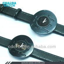 best simple design 2012 fashion new ladies black watch