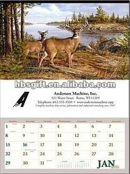 Chinese calendar 2012 & desk calendar