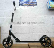 Aluminum Foldable Kick Scooter With 2 Extra-large urethane wheels