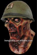 custom various zombie mask design latex halloween ghost mask