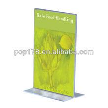 acrylic menu cover for restaurant