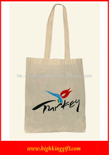 Recycled Natural Cotton Canvas Tote Bags