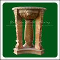 Pedra antiga escultura vaso de flores, Plantador