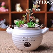 Zakka garden style small decorative flower pots