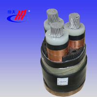 0.6/1kV 3-core aluminum conductor pvc insulated and sheathed unarmoured power cable ,kabel