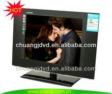 cheap thin color led tvs with HDMI/USB/AV input and output /DVB-T/ATSC