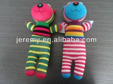 soft stuffed DIY handmade cotton sock doll sock toys