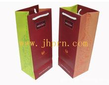 luxury paper wine bottle bags bulk wholesale