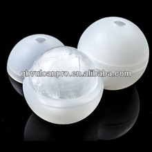 """Stone Cask Ice Rounds - Silicon Ice Mould Makes 2 Large 2.5"""" Ice Balls"""