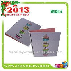 clip folder/stationery product/pocket file/aluminum